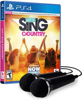 Let's Sing Country - 2 Mic Bundle
