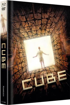 Cube (1997) (Cover C, Limited Edition, Mediabook, Uncut, Blu-ray + DVD)