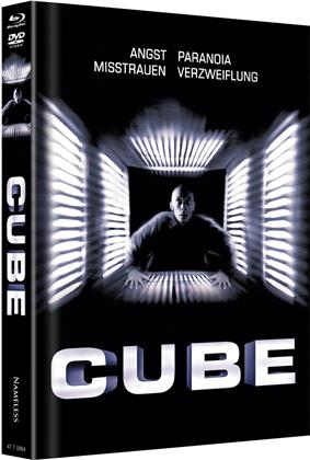 Cube (1997) (Cover A, Limited Edition, Mediabook, Uncut, Blu-ray + DVD)