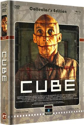 Cube (1997) (Cover D, Limited Edition, Mediabook, Uncut, Blu-ray + DVD)