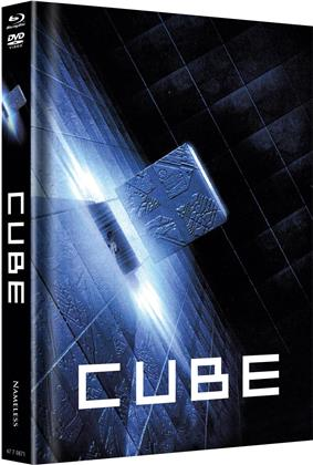 Cube (1997) (Cover B, Limited Edition, Mediabook, Uncut, Blu-ray + DVD)