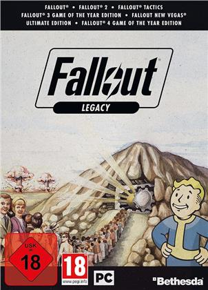 Fallout Legacy Edition - Fallout 1, 2, 3, 4, New Vegas, Tactics