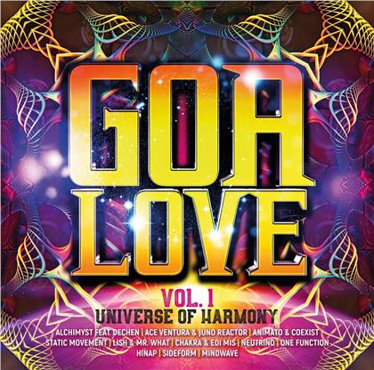 Goa Love Vol. 1 - Universe Of Harmony (More Music, 2 CDs)