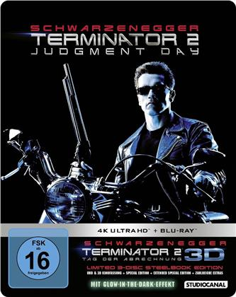 Terminator 2 (1991) (Limited Edition, Steelbook, 4K Ultra HD + Blu-ray)
