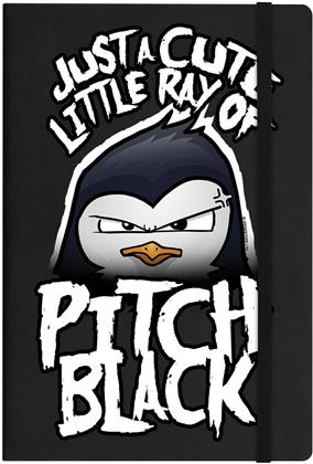 Psycho Penguin - Cute Little Ray of Pitch Black - A5 Hard Cover Notebook