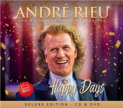 Andre Rieu & Johann Strauss Orchester - Happy Days (Deluxe Edition, CD + DVD)