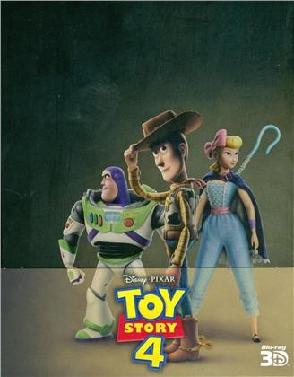 Toy Story 4 (2019) (Limited Edition, Steelbook, Blu-ray 3D + Blu-ray)