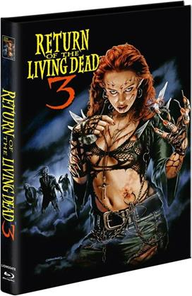 Return of the Living Dead 3 (1993) (Cover A, Limited Edition, Mediabook, Unrated, Blu-ray + 2 DVDs)