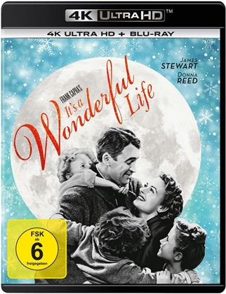 It's a Wonderful Life (1946) (s/w, 4K Ultra HD + Blu-ray)