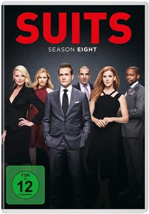 Suits - Staffel 8 (4 DVDs)