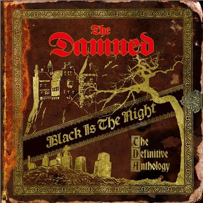 The Damned - Black Is the Night:The Definitive Anthology (Remastered, 2 CDs)
