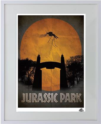 Jurassic Park - Framed Limited Edition Numbered Print