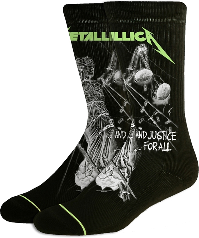 Metallica - And Justice For All Black Socks