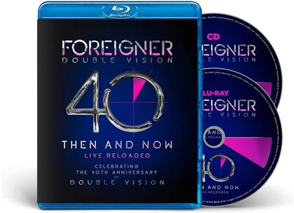 Foreigner - Double Vision - Then and Now (Blu-ray + CD)