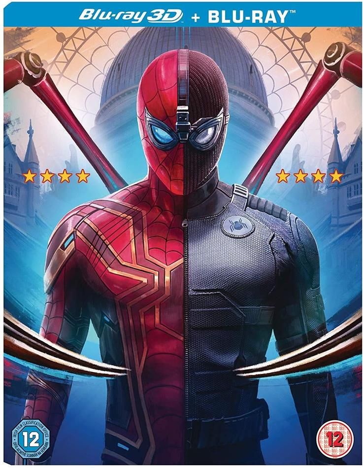 Spider-Man: Far From Home (2019) (Blu-ray 3D + Blu-ray)