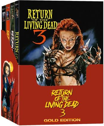 Return of the Living Dead 3 (1993) (Gold Edition, Cover A, Cover B, Cover C, Cover D, Mediabook, Unrated, 4 Blu-rays + 8 DVDs)