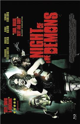 Night of the Demons (2009) (Grosse Hartbox, Cover C, Limited Edition)
