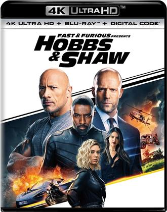 Hobbs & Shaw - Fast & Furious (2019) (4K Ultra HD + Blu-ray)