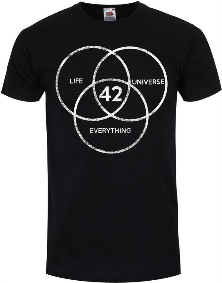 The Answer To Life, The Universe & Everything - Men's T-Shirt - Size M