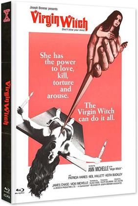 Virgin Witch (1972) (Cover A, Edizione Limitata, Mediabook, Uncut, Blu-ray + DVD)