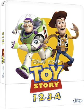 Toy Story 1-4 (Steelbook, 4 Blu-ray)