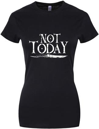 Not Today Dagger - Ladies T-Shirt