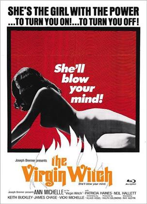 The Virgin Witch (1972) (Eurocult Collection, Cover D, Edizione Limitata, Mediabook, Blu-ray + DVD)