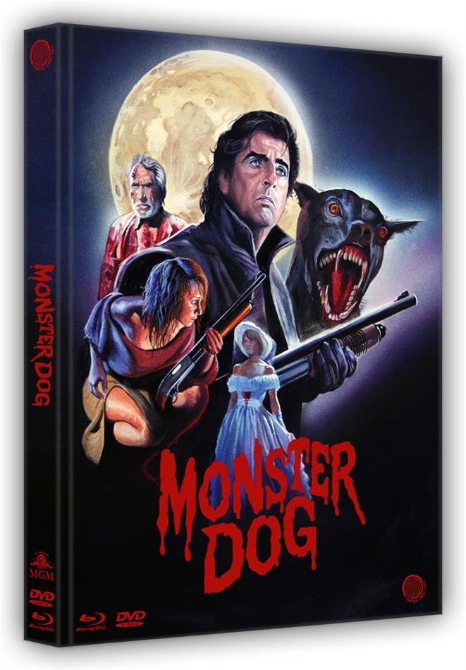 Monster Dog (1984) (Cover A, Limited Edition, Mediabook, Uncut, Blu-ray + DVD)