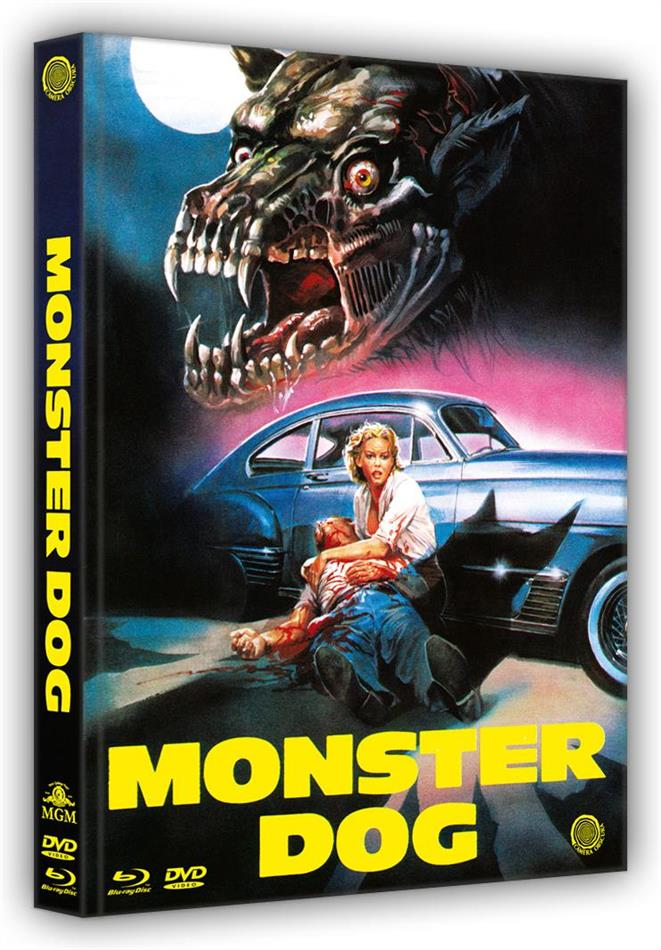 Monster Dog (1984) (Cover B, Limited Edition, Mediabook, Uncut, Blu-ray + DVD)