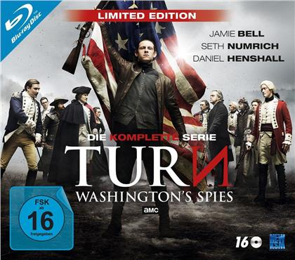 TURN - Washington's Spies - Die komplette Serie (Limited Edition, 16 Blu-rays)