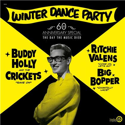 Buddy Holly, Ritchie Valens & The Big Bopper - Winter Dance Party (LP)