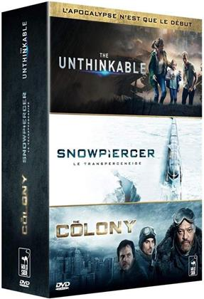 The Unthinkable / Snowpiercer / The Colony (3 DVDs)