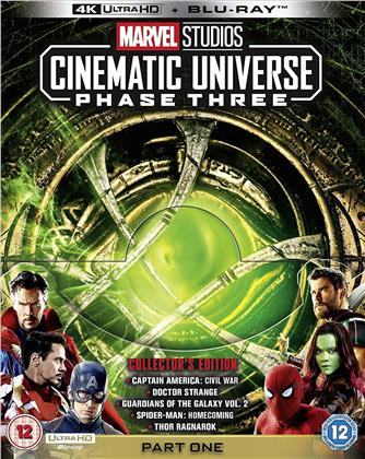 Marvel Studios Cinematic Universe - Phase 3 - Part 1 (5 4K Ultra HDs + 6 Blu-ray)