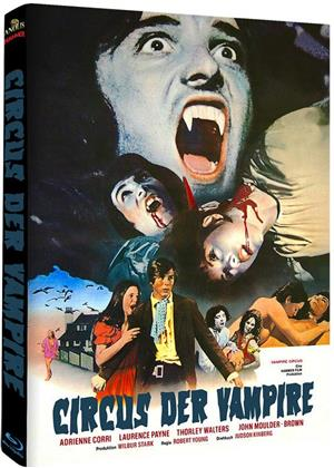 Circus der Vampire (1971) (Cover A, Hammer Edition, Limited Edition, Mediabook)