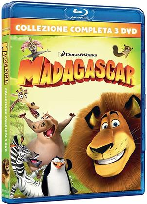 Madagascar (Complete Collection, 3 Blu-rays)