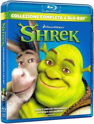 Shrek (Complete Collection, 4 Blu-ray)
