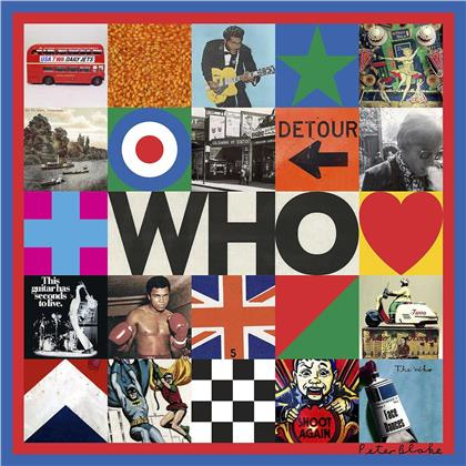 The Who - Who (Indies Only, Gatefold, Exclusive Edition, Limited Edition, Black & Cream Vinyl, 2 LPs)