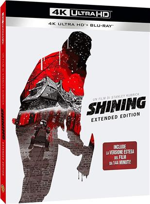Shining (1980) (Extended Edition, 4K Ultra HD + Blu-ray)