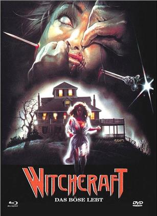 Witchcraft - Das Böse lebt (1988) (Cover A, Limited Edition, Mediabook, Uncut, Blu-ray + DVD)