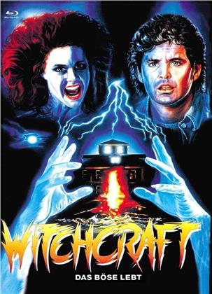 Witchcraft - Das Böse lebt (1988) (Cover C, Limited Edition, Mediabook, Uncut, Blu-ray + DVD)