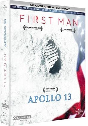 First Man / Apollo 13 (2 4K Ultra HDs + 2 Blu-rays)
