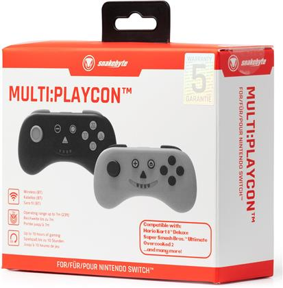 Switch Controller 2-er MULTI:PLAYCON blackgrey - (SWITCH & SWITCH Lite)