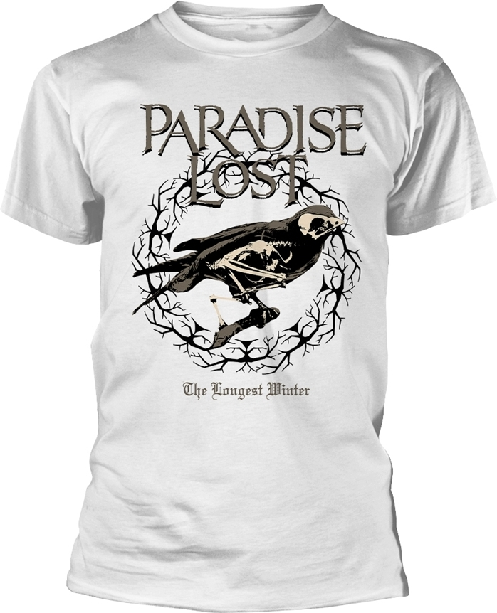 Paradise Lost - The Longest Winter (White) - Grösse M