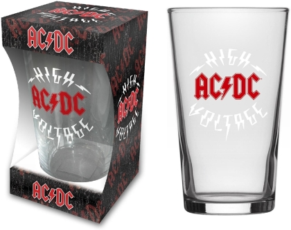 AC/DC - High Voltage (Beer Glass)