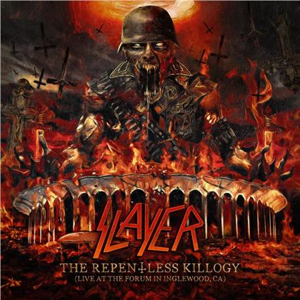 Slayer - The Repentless Killogy (Live At The Forum Inglewood) (Gatefold, Red Vinyl, 2 LPs)