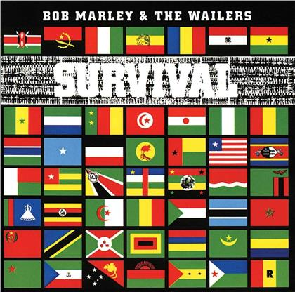 Bob Marley - Survival (Strictly Limited Edition, Transparent Clear Vinyl, LP)