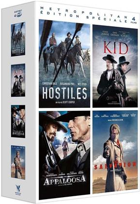 Hostiles / The Kid / Appaloosa / The Salvation (4 DVDs)