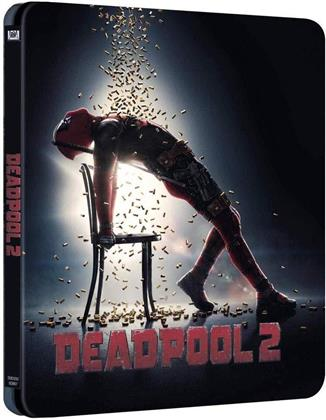 Deadpool 2 (2018) (Extended Edition, Edizione Limitata, Steelbook, 2 Blu-ray)