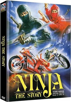 Ninja - The Story (1986) (Limited Edition, Mediabook, Uncut, 2 DVDs)