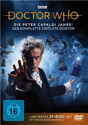 Doctor Who - Die Peter Capaldi Jahre - Der komplette 12. Doktor (BBC, Limited Edition, 21 DVDs)